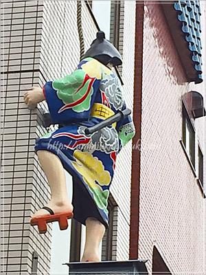 伝法院通りに隠れている江戸の盗賊「白浪五人男」