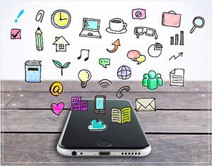 スマホに搭載されたアプリやツールは受験生の気が散る原因に。