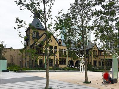 東京ガーデンテラス紀尾井町の敷地内にある赤坂プリンスクラシックハウス