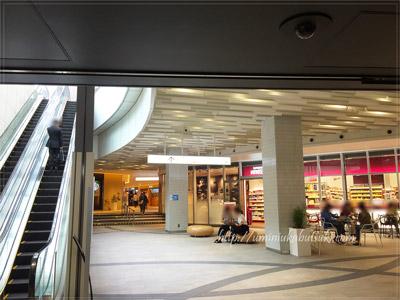 東京ガーデンテラス紀尾井町の寛ぎスペース