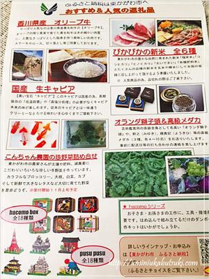 香川県東かがわ市さんから届いた地域のPR活動用のチラシ