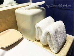 モーベンピックホテルマクタンアイランドセブ(Moevenpick Hotel Mactan Island Cebu)のタオルなどは、漏れがなく毎日完璧に補充される。