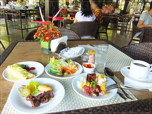 美味しい食事で評判の高い『セブ ホワイト サンズ リゾート アンド スパ』の朝食ブッフェ