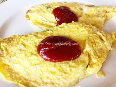 グランディスホテルの「ROSEA CAFÉ」の卵料理は胃に優しくて美味しい。