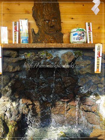 無料で飲める、パワースポット富士山の「湧水」。