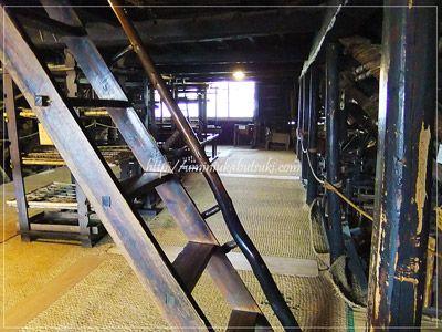 榛の木林民族資料館になっている旧渡邉家の2階には、養蚕場がある。