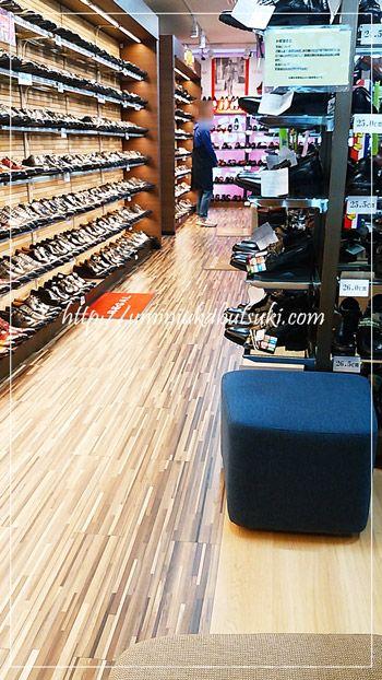 豊富な紳士革靴。牛革ビジネス靴が4,990円からと安い