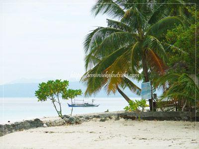 ダバオ滞在中の外国人が好んで出かけるサマール島。