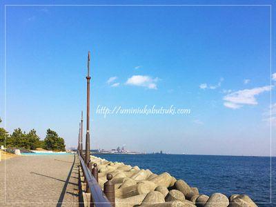 東京湾を一望しながら魚釣りが楽しめる大黒海釣り施設。