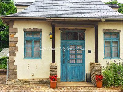 「こもれび森のイバライド」の入園ゲートのすぐ脇に用意されている、授乳専用のお家。