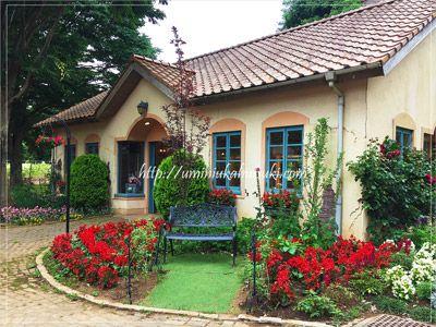 茨城県にある、プロヴァンスの村を思わせる美しい風景の「こもれび森のイバライド」。