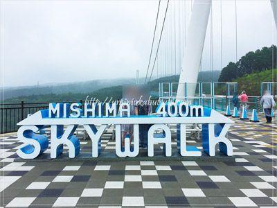 歩行者専用のつり橋として日本一の長さを誇る三島スカイウォークの全長は片道400m。