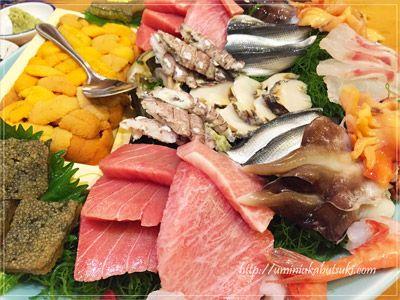 留学生受け入れ最終日の夜に、なま物の食事を取り入れると安心。