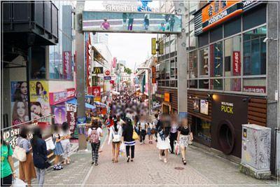 原宿の竹下通りは、タイ王国の女子高校生の憧れ。