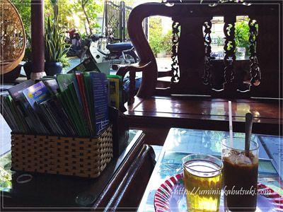 トゥエタムガーデンヴィラのベトナムコーヒーはかなり美味しい