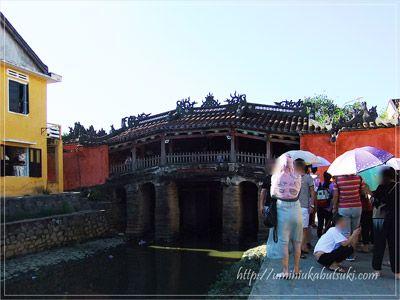 ベトナムの20,000ドンにも印刷されている来遠橋(日本橋)の外観