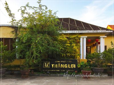 ホイアン旧市街にあるベトナムシルクの技術を見られる工房