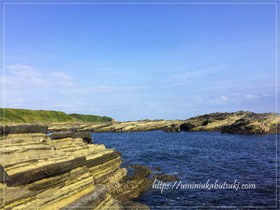 美しい景色が広がる城ケ島の海岸