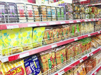 3階の食品フロアには日本の味がズラりと並ぶ