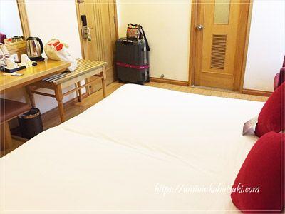 ホーチミンにある、安いのにシンプルで清潔感に溢れたアジアンルビーセレクトホテル(Asian Ruby Select Hotel)の部屋