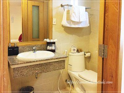 清掃の行き届いている使い勝手の良いバスルーム