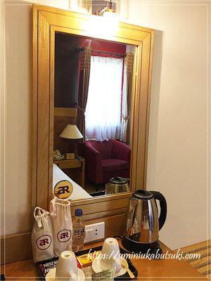 アジアンルビーセレクトホテルの室内は、安い値段に見合わない清潔さと行き届いた備品がある