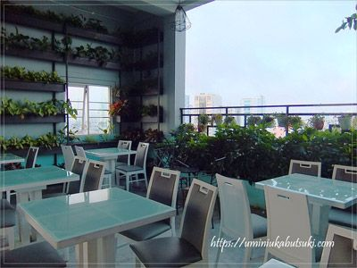 ホーチミンの街を一望できる、アジアンルビーセレクトホテル(Asian Ruby Select Hotel)でおすすめの屋上ブッフェ