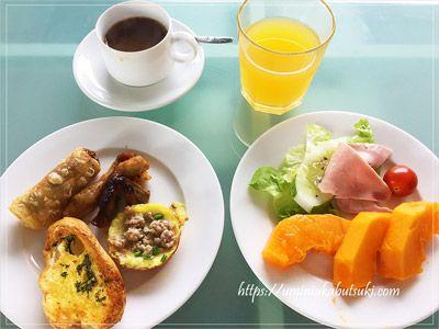 ブッフェ料理は種類が豊富で美味しいのに、宿泊費が安いホーチミンのアジアンルビーセレクトホテル(Asian Ruby Select Hotel)