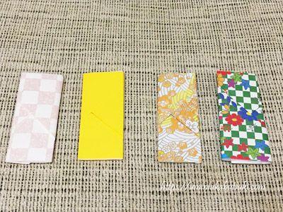 都道府県シールの千社札タイプが入っていたキレイな包み紙
