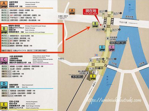 京都観光2泊3日のモデルコース作りでは市バスも活用すると便利