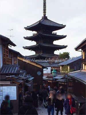 祇園界隈にある京都の古い街並み