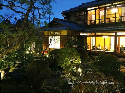 隠れ家を思わせるよーじやカフェ銀閣寺店の日本庭園