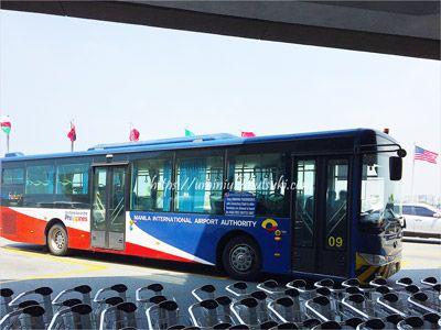 マニラ空港での乗り継ぎに利用できる無料シャトルバス