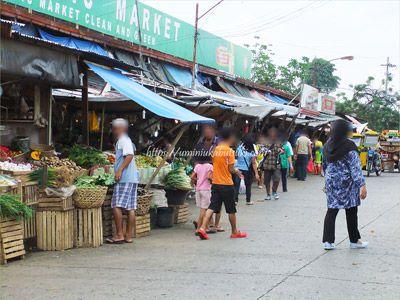 フィリピン人の生活を支えるマーケット