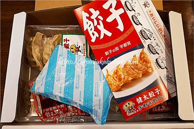「氷低温熟成」が旨味の秘訣だと言う宇都宮餃子館のお土産餃子