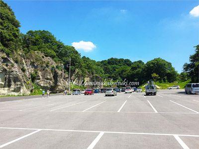 大谷資料館の無料駐車場