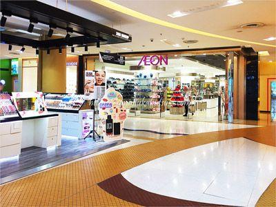 サンウェイピラミッドショッピングセンターに入っている、日用品の購入に便利なイオン
