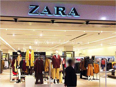 サンウェイピラミッドショッピングセンターには南国マレーシアなのに冬のコートも買えるZARAがある