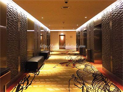 静かで落ち着いた雰囲気のSunway Clio Hotel(サンウェイクリオホテル)の廊下