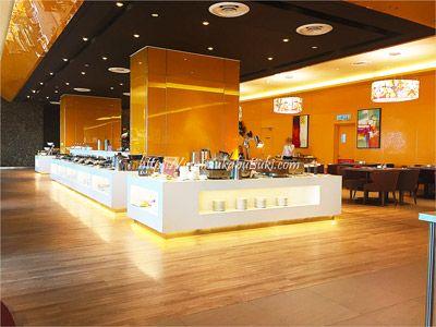 料理の種類が豊富なSunway Clio Hotel(サンウェイクリオホテル)の朝食ブッフェ。