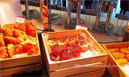 サンウェイクリオホテル(Sunway Clio Hotel)の朝食ブッフェはパンも豊富