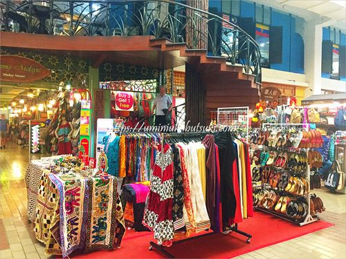 マレーシアの民芸品や近隣国の輸入雑貨を買えるセントラルマーケット