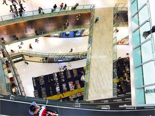 KLセントラル駅に直結している巨大なショッピングモールのニューセントラル