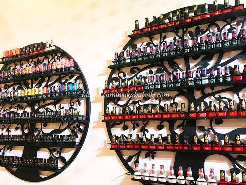 クアラルンプールの中心にあるので立ち寄り安いネイルサロンAI Nailの店内
