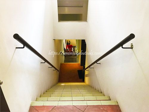 マラッカの古民家ホテルではエレベーターがないことがしばしば